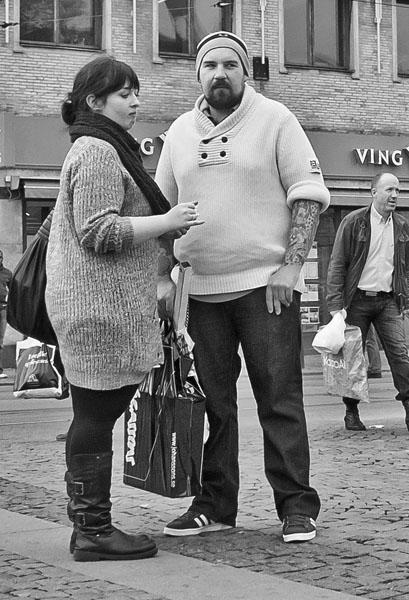 Par på gatan
