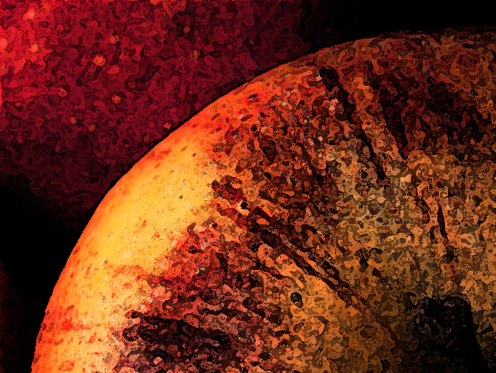 Äpple Photoshop filter Al Fresco